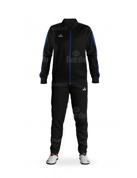 Slim Fit Tracksuit Black/Blue
