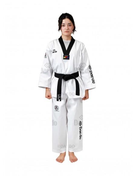 "WTF ""Seoul"" Dobok Black Collar"