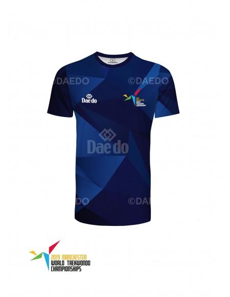 Camiseta Azul Mundial TKD 2019