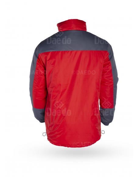 Padding Jacket - Red/Grey