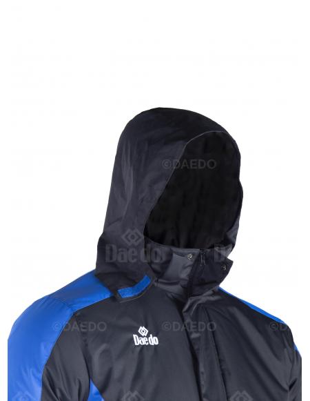 Nueva Parka - Negro/Azul