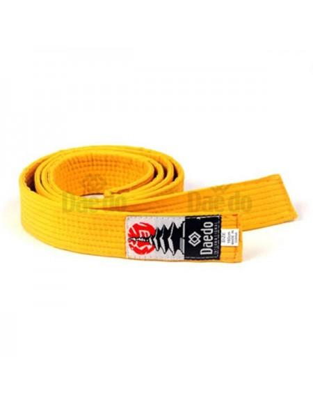 Cinturón infantil Amarillo 240cm