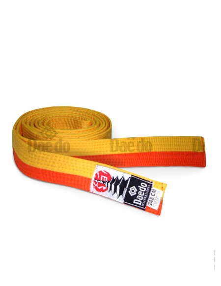 Kid Belt Yellow-Orange 240cm