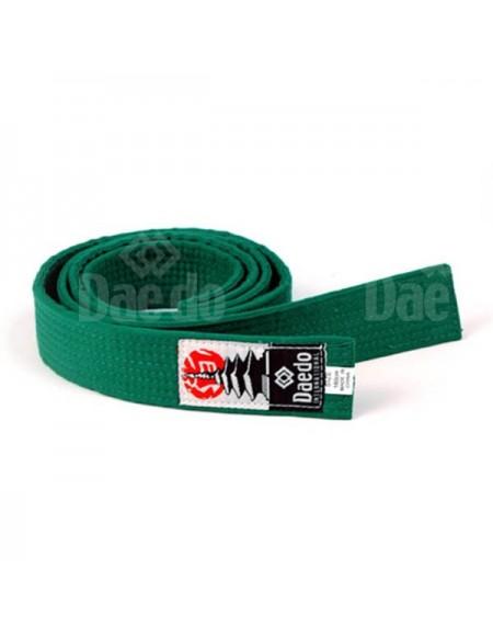 CI 1507 - Cinturón infantil Verde 240cm