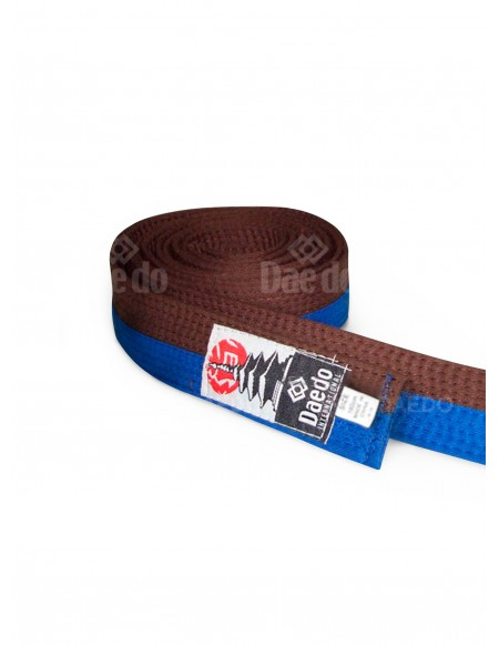 Kid Belt Blue-Brown 240cm