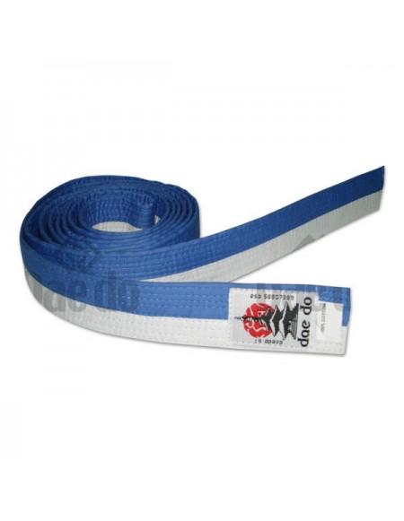 Kyokushin Senior Belt White-Blue 280 cm