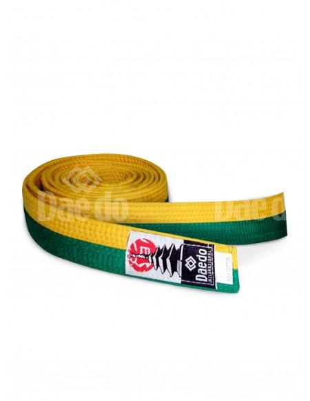 Cinturón adulto Amarillo-Verde 285cm