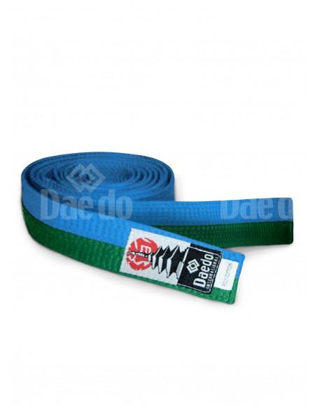 Cinturón adulto Verde-Azul 285cm