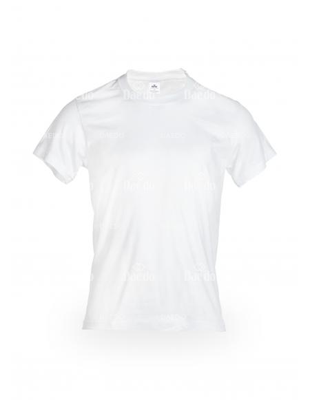 Camiseta Algodón Blanco / Negro