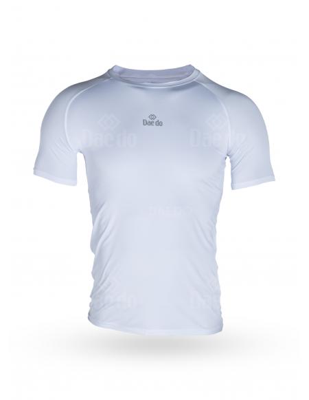 Camiseta técnica Blanco / Negro