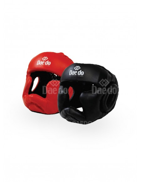 Full Contact Leather Head Gear