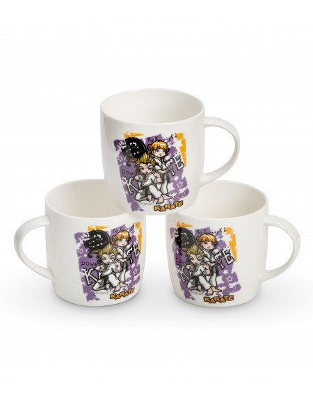 "Taza ""KARATE KIDS"" Lila"