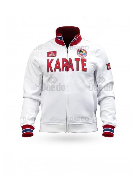 """Chaqueta Slim """"Karate"""" WKF Blanco"""