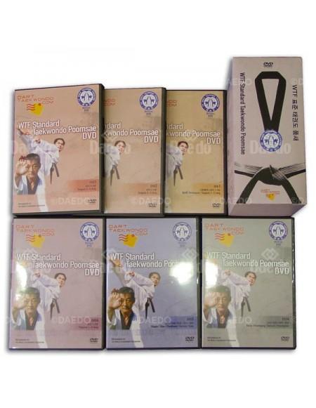 Complete Set DVD Taekwondo Poomsae...