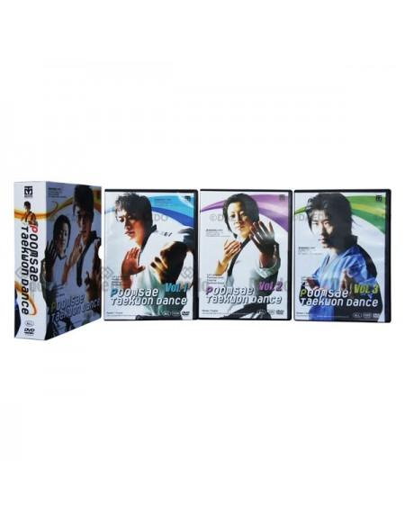 Poomsae Taekwondo Dance DVD Set