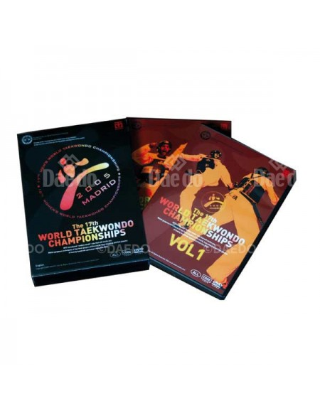 DVD World TKD Championship Madrid 2005