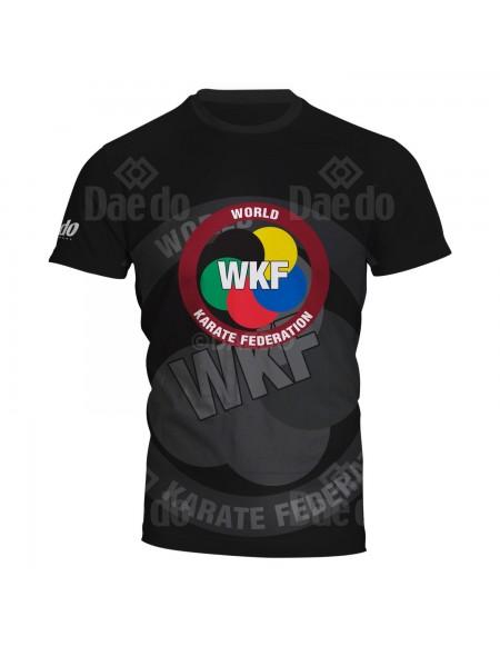 Camiseta WKF Full Print Negro