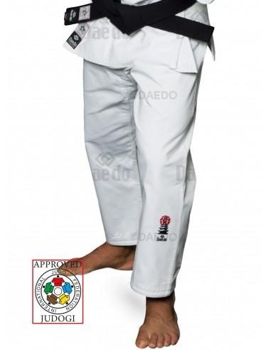 Imagén: Pantalones IJF Judo Blanco