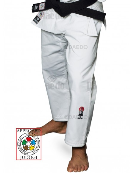 IJF Judo Trousers White