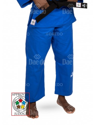 Imagén: Pantalones Daedo IJF Judo Azul