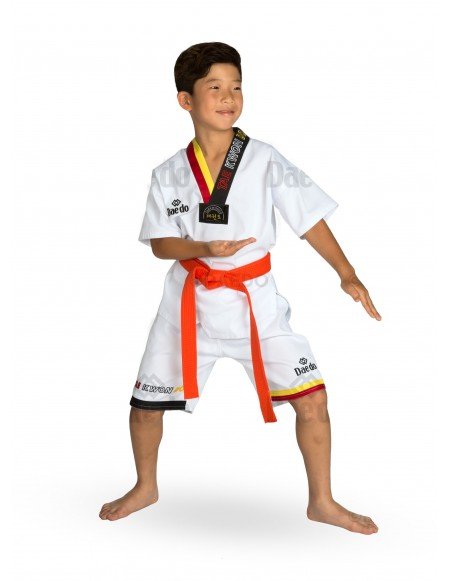 Summer Dobok (yellow/red)