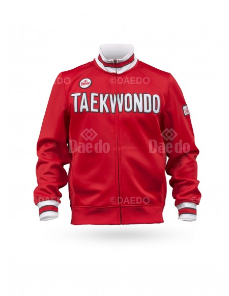 "Slim Jacket ""Taekwondo"" Red"