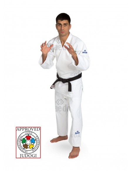 IJF Slim Fit Judogi - White
