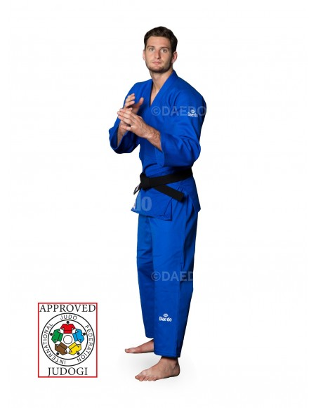 IJF Slim Fit Judogi - Blue
