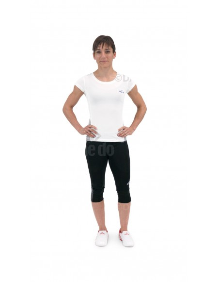 Pantalón Corto FIT4 Mujer Negro