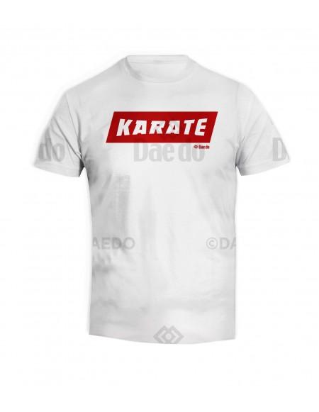 Camiseta Karate Blanco