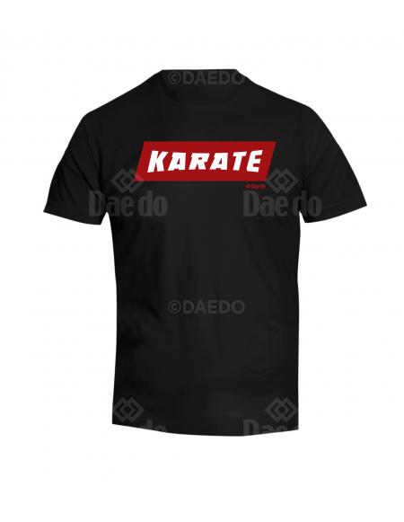 Camiseta Karate Negro
