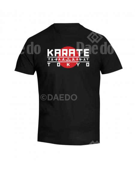 CA 20201 - Camiseta Karate Tokyo negro