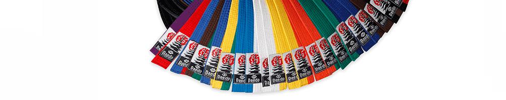Daedo International | Cinturones Taekwondo Adultos
